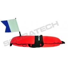 Scubatech Torpedo bøje med flag