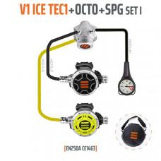 Tecline Regulator sæt V1 ICE TEC 1 + Octopus