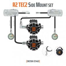 Tecline Regulator sæt R2 TEC 2 Sidemount