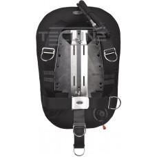 Tecline Donut 17 vinge system til enkelt flaske med blylommer, komfort harness, rustfri plade