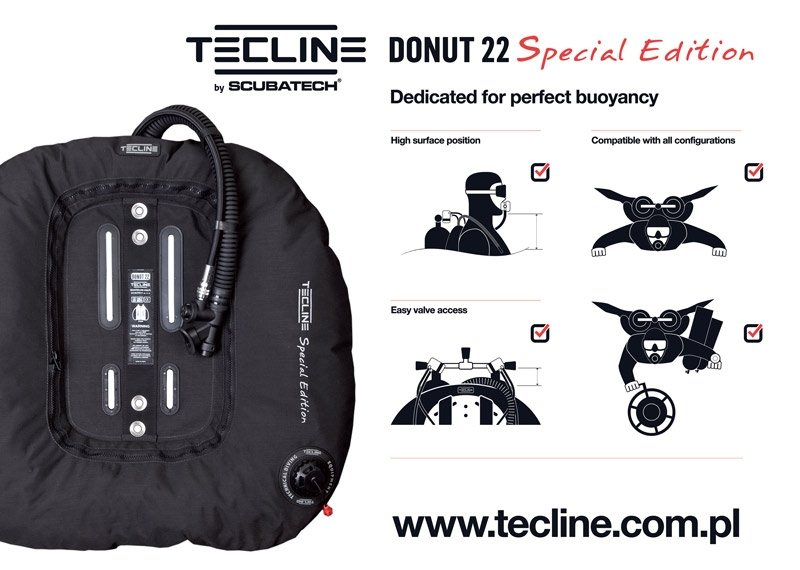 Tecline Donut 22 Special edition